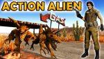 Action Alien Artwork