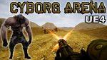 Cyborg Arena UE4 Artwork